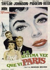 1954 La ultima vez que vi Paris (esp) 01